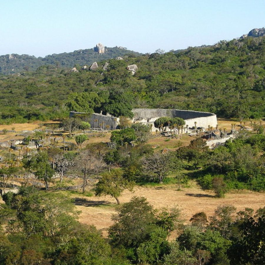 Afrika Great Zimbabwe